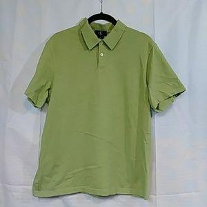 Calvin Klein Light Green Polo Adult Medium